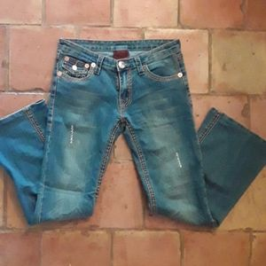 True Religion stretchy & adorable jeans NWOT